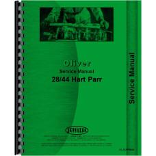 Oliver (Hart Parr) Hart Parr 28-44 Tractor Service Manual