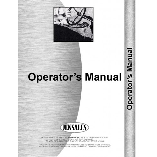 Agriculture/farming Mf 690 Operators Instruction Book