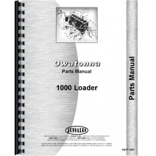 Owatonna 1000 Skid Steer Loader Parts Manual