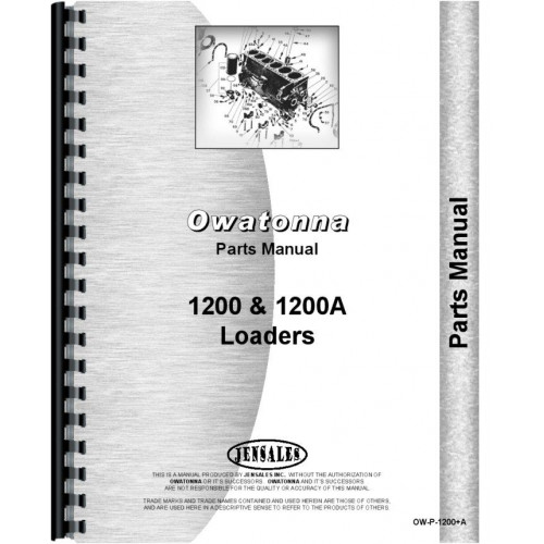 Huge selection of Owatonna Parts and Manuals