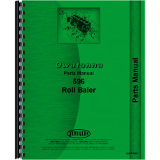 Image of Owatonna 596 Roll Baler Parts Manual