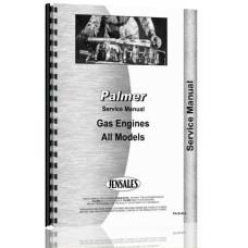 Image of Palmer C, D, E, F, NK, NL, NR, P1, Q1, Q2, RW Engine Service Manual