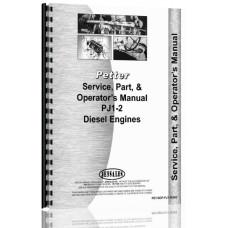 Image of Petters PJ1-2 Engine Service Manual