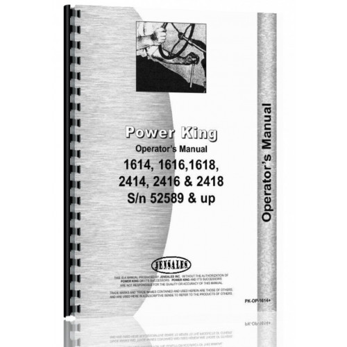 data entry mistakes do occur, power king 2414 manual find used sale ebay,  group  tractordata power king 2414 tractor information