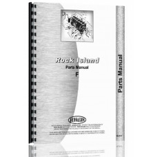 Image of Rock Island F Tractor Parts Manual