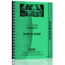 Rumely 30-50-Y Oil Pull Tractor Service Manual
