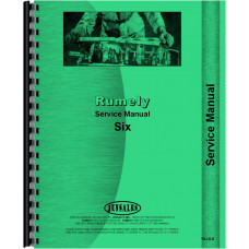 Rumely 6-A Oil Pull Tractor Service Manual