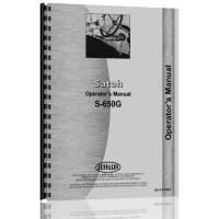 Satoh S650G Tractor Operators Manual