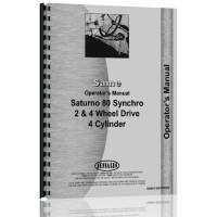 Same Saturno 80 Tractor Operators Manual (80)