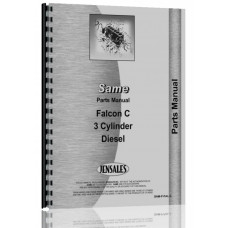 Image of Same Falcon C Tractor Parts Manual (Falcon C)