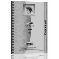 Image of Same Laser 110 Tractor Parts Manual (Laser 110)