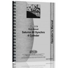 Image of Same Saturno 80 Tractor Parts Manual