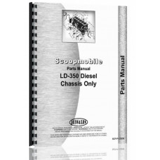 Scoopmobile LD-350 Tractor Parts Manual