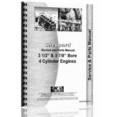 "Image of Sheppard 3 1/2"" & 3 7/8"" Bore, 4-cyl Engine Service & Parts Manual"