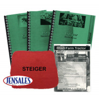 Steiger Panther Deluxe Tractor Manual Kit