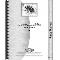Image of Scoopmobile H Tractor Parts Manual (Model H)