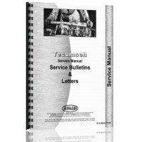 Image of Tecumseh Service Bulletins & Letters for all engines built 1960-1974 Service Manual