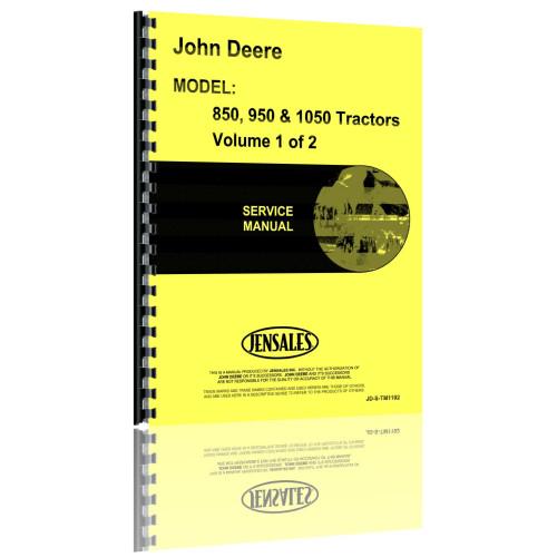 john deere 950 tractor service manual rh jensales com John Deere 950 Tractor Model John Deere 950 Utility Tractor