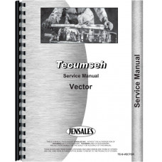 Image of Tecumseh Vector Engine Service Manual