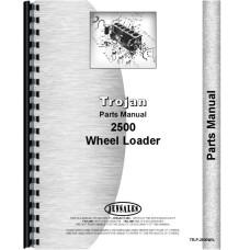 Image of Trojan 2500 Wheel Loader Parts Manual (#2500 Wheel Loader)
