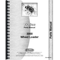 Image of Trojan 3000 Wheel Loader Parts Manual (Wheel Loader)
