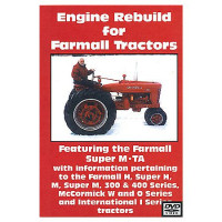 Farmall M, H, Super M and H, 300, 400 Series Engine Rebuild DVD (IH-DVD-M,HENG)