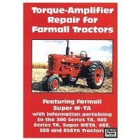 Farmall MTA, 300, 400, 460, 560, 656, Super W6TA Torq-Amp Rpr DVD (IH-DVD-TORQUE)