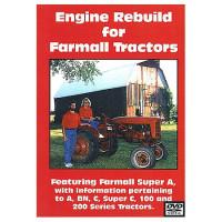 Farmall A, C, Super A and C, 100, 200 Series Engine Rebuild DVD (IH-DVD-A,CENG)
