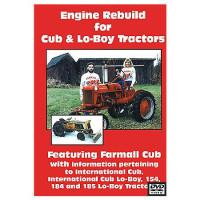 Farmall Cub, International LoBoy Engine Rebuild DVD (IH-DVD-CUBENG)