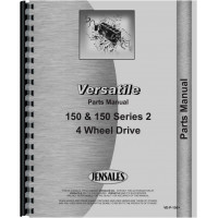 Versatile 150 Series 2 Tractor Parts Manual (4 Wheel Drive)