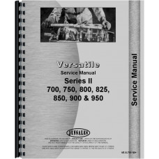 Versatile 700 Tractor Chassis Only Service Manual