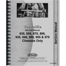 Versatile 835 Tractor Service Manual (1978-1984) (Chassis)