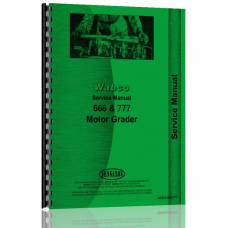 Wabco 666 Motor Grader Service Manual
