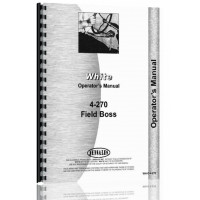 Image of White 4-270 Tractor Operators Manual