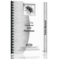 Image of White 2-70 Tractor Parts Manual