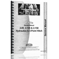 White 2-105 Hydraulics and 3 Point Service Manual