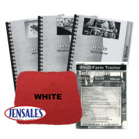 White 2-105 Deluxe Tractor Manual Kit