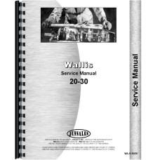 Wallis 20-30 Tractor Service Manual