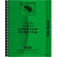 Image of Wallis Certified Tractor Parts Manual (SN# 58511 and up)