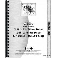 White 2-35 Tractor Parts Manual (SN# 001417 & Up)