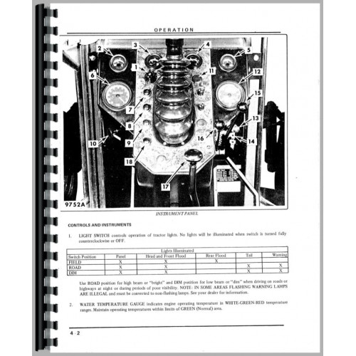 White 2 105 Tractor Manual_98525_3 500x500 oliver 1600 wiring diagram oliver 1600 diesel \u2022 wiring diagram  at crackthecode.co