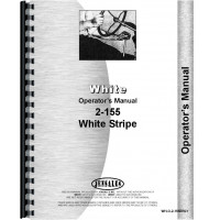 White 2-155 Tractor Operators Manual (Diesel)