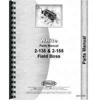 White 2-155 Tractor Parts Manual