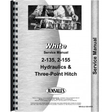White 2-155 Hydraulics and 3 Point Service Manual (w/hitch)