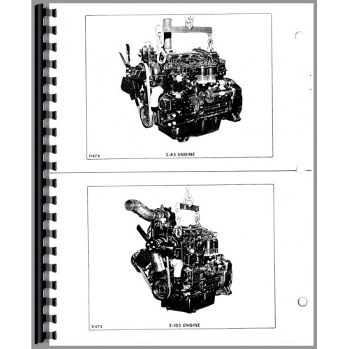 2 105 tractor service manual includes engine white 2 105 tractor service manual includes engine fandeluxe Image collections