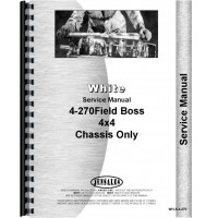 White 4-270 Tractor Service Manual