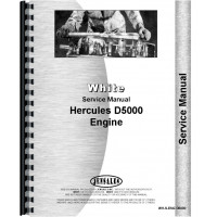 White 2-155 Hercules Engine Service Manual (Hercules D5000)