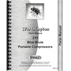 Image of Worthington 210 Portable Air Compressor Parts Manual