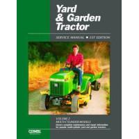 John Deere 316 Lawn & Garden Tractor Service Manual (IT Shop)