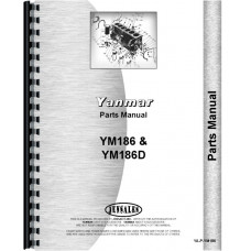 Image of Yanmar YM186 Tractor Parts Manual